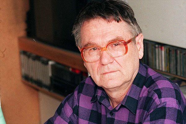 Zdzisław Beksiński - zdjęcie archiwalne