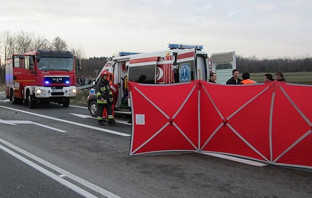 Tragiczny wypadek pod Brzeskiem. Nie żyją dwie osoby