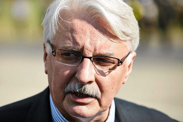 Witold Waszczykowski ocenił sytuację w Katalonii