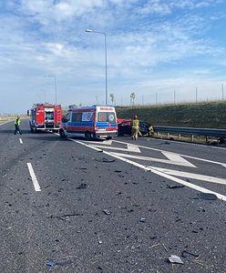 Śmiertelny wypadek pod Olsztynkiem. Kierowca zginął na miejscu