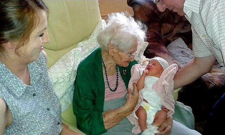 Pani Tekla i Igunia przyszły na świat tego samego dnia...w odstępie 115 lat