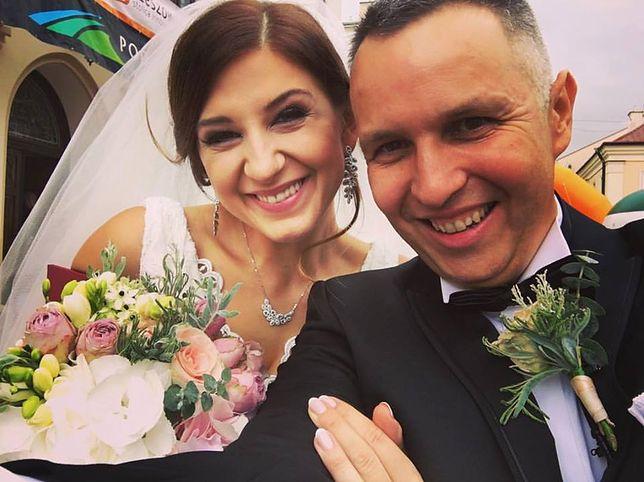 Ależ to było wesele! Roman Kołtoń i jego żona bawili się doskonale