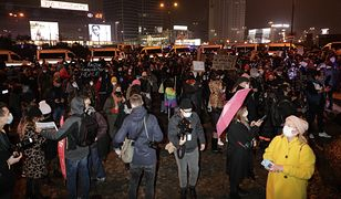 Strajk kobiet w Warszawie. Policja zatrzymała dwie osoby