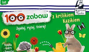 Kapitan Nauka 100 zabaw z królikiem Kazikiem