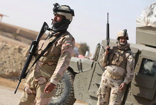 Iraccy żołnierze
