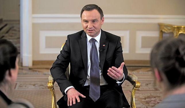 Jak jest z obronnością Polski? Prezydent Andrzej Duda: ja siedziałem spokojnie