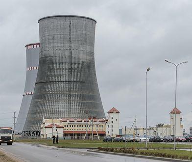 Elektrownię w Ostrowcu na Białorusi znajduje się 170 km od Polski