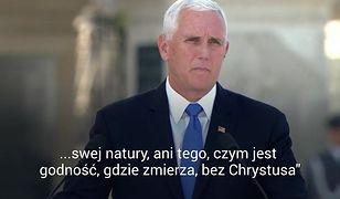 1 września. Mike Pence wspomina Jana Pawła II