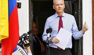 Julian Assange - zdjęcie archiwalne