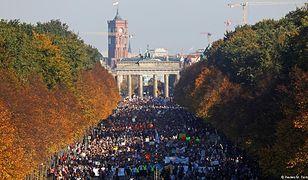 Na ulice Berlina wyszło 150 tys. demonstrantów