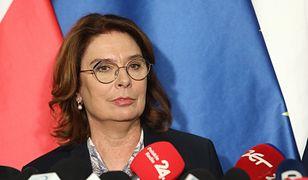 Kandydatka PO na prezydenta Małgorzata Kidawa-Błońska.