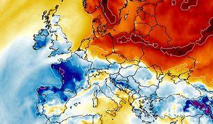 Pogoda na ferie. Najprawdopodobniej śnieg i mróz nie dotrą do Polski nawet w lutym. Na mapie anomalie temperatur 30 stycznia.