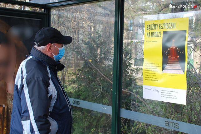 Na przystankach na terenie Górnośląsko-Zagłębiowskiej Metropolii pojawiły się specjalne plakaty.