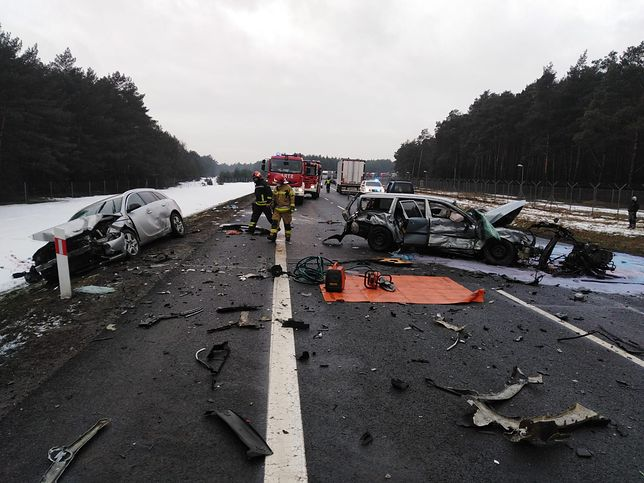 Toruń. Śmiertelny wypadek na S10 (Fot.: policja.gov.pl)