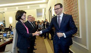 Minister cyfryzacji Anna Streżyńska i premier Mateusz Morawiecki