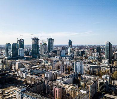 Warszawa. Sobota będzie upalna i burzowa.