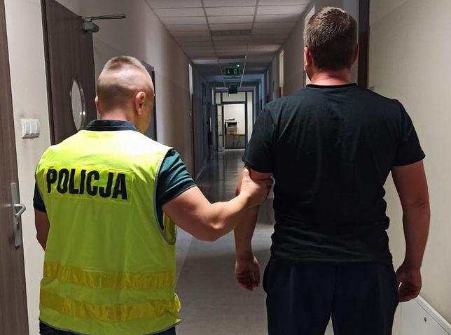 Chwile grozy w Chojnie. Policjant uchronił kobietę przed gwałtem