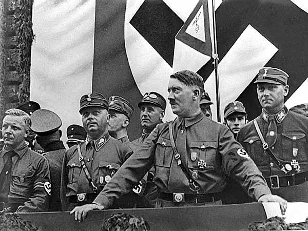 Olimpijski triumfator, zdobywca wszystkich medali - Adolf Hitler
