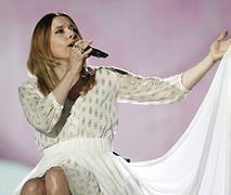 Monika Kuszyńska zrelaksowana przed występem na Konkursie Piosenki Eurowizji