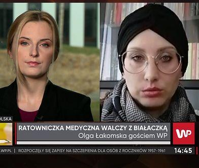 Olga Łakomska walczy z białaczką. Przez ostatnie siedem lat pracowała jako ratowniczka medyczna