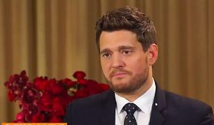 """Michael Bublé popłakał się na wizji. """"Wolałbym wziąć to na siebie"""""""