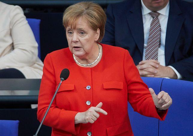Merkel po raz pierwszy odpowiadała na bezpośrednie pytania posłów w Bundestagu