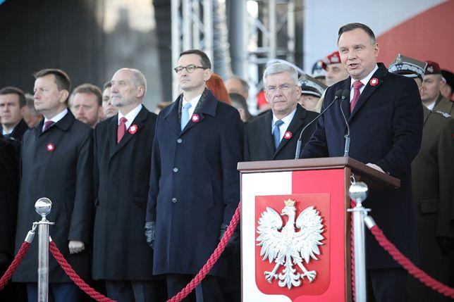 11 listopada. Prezydent Andrzej Duda wygłosił w poniedziałek przemówienie