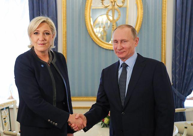 Tajemnicze spotkania ludzi Le Pen z przedstawicielem Kremla