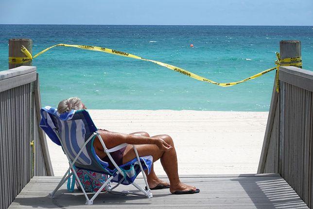 W zimnych miesiącach Amerykanie chętnie uciekają na Florydę