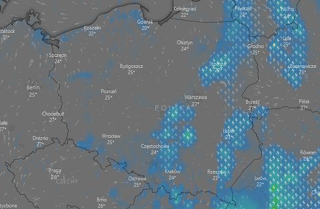 Pogoda na 27 lipca. IMGW ostrzega - sprawdź, gdzie jest burza