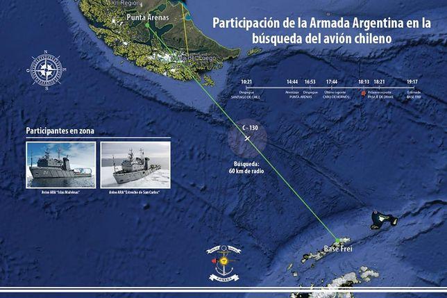 Chile. Szczątki samolotu na dnie oceanu. Może to być wrak zaginionego Herculesa