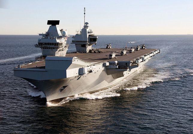 Lotniskowiec HMS Queen Elizabeth