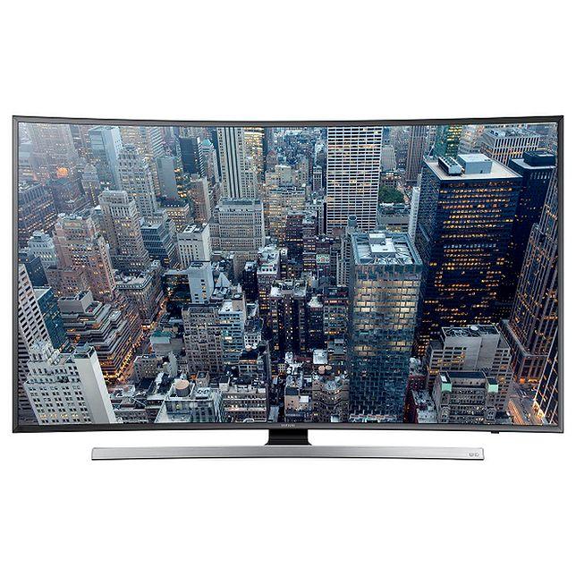 Nowy zakrzywiony telewizor JU7500 firmy Samsung