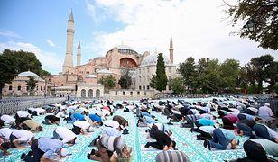 Koronawirus. Turcja. Trzy tysiące zakażeń po pierwszej modlitwie w Hagii Sophii? Ekspert nie ma wątpliwości