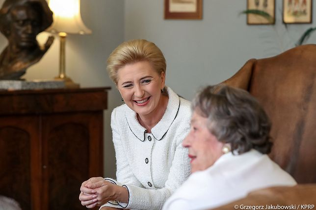 Szczyt NATO. Agata Kornhauser-Duda spotkała się z działaczkami polonijnymi