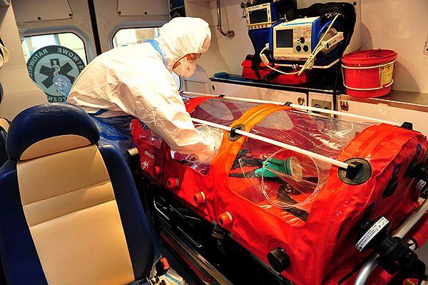Szkolenie ratowników medycznych z Wojewódzkiej Stacji Pogotowia Ratunkowego w Szczecinie