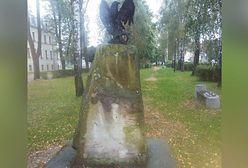 Śląskie. Zdewastowano obelisk poświęcony żołnierzom NSZ w Żywcu