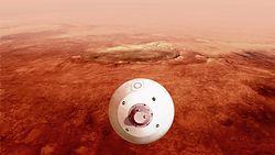 NASA. Transmisja lądowania łazika Perseverance na Marsie [Wideo]