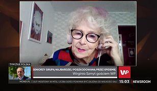 DJ Wika mówi o sytuacji seniorów w dobie pandemii. 82-latka ma apel do młodych ludzi