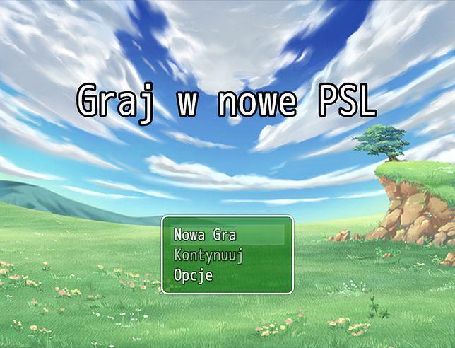 "Screen z ""Graj w nowe PSL"""