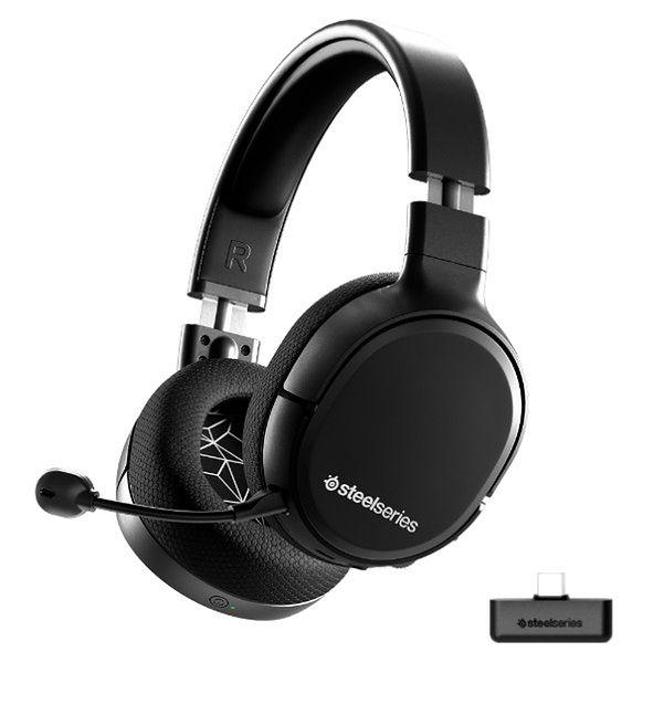 Bezprzewodowe słuchawki SteelSeries Artcis 1 Wireless. Pierwszy bezprzewodowy zestaw słuchawkowy 4w1