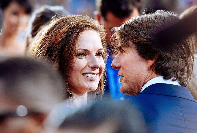 Rebecca Ferguson i Tom Cruise