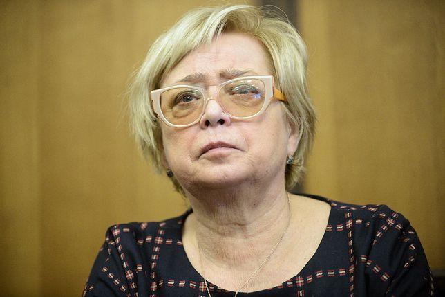 Małgorzata Gersdorf zabrała głos podczas dyskusji w Berlinie