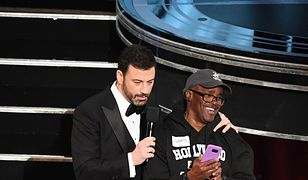 Kolejna wpadka na gali wręczenia Oscarów wyszła na jaw. Uściski z recydywistą oskarżonym o próbę gwałtu
