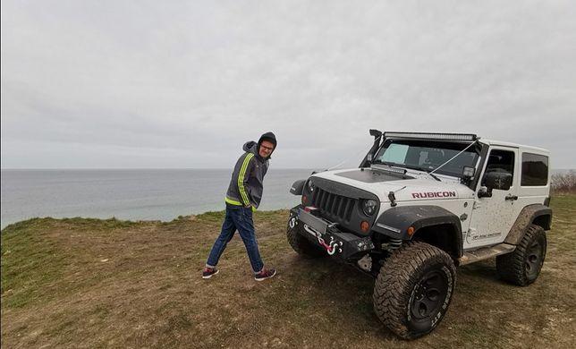 Jeep Kuby Wojewódzkiego jest jedyny w swoim rodzaju