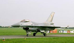 Belgijskie F-16 na Radom AirShow 2005