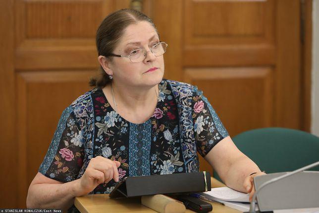 Krystyna Pawłowicz wywołała skandal wpisem na Twitterze (zdj. arch.)