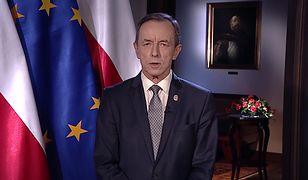 Tomasz Grodzki wygłosił orędzie. Marszałek Senatu zwrócił się do Polaków