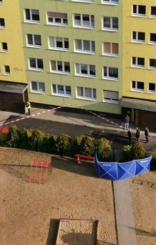 Konin. Policjant postrzelił mężczyznę