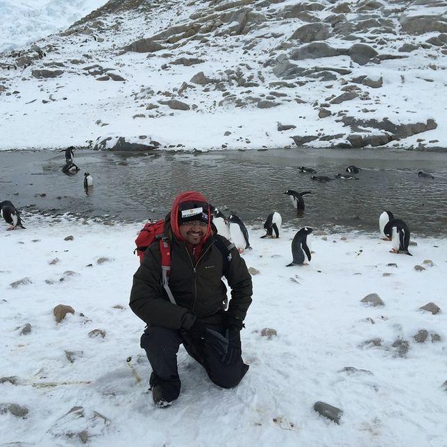 Rzucił pracę i wyjechał na Antarktydę. To całkowicie odmieniło jego życie
